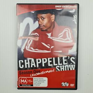 Chappelle's Show : Season 1 Uncensored DVD 2-Disc - Region 4 - FREE TRACKED POST
