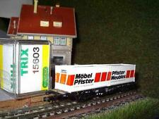 Minitrix 15603 Containerwagen Möbel Pfister NEU&OVP 2 Jahre Händlergewähr