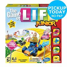 Game Of Life Junior Board Game Hasbro Gaming 2+ Players 5+ Years