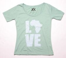 Krochet Kids Love Africa Tee (M) Green