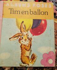 Tim en Ballon by Pierre Peter Probst albums roses 1963