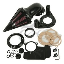 Air Cleaner Kits Black Intake Filter For Harley Touring Model 2008-2012 11 10 09