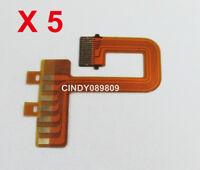 5 PCS Bayonet Mount Contactor Flex Cable Part For Nikon AF-S Nikkor 18-55mm VR