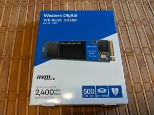 Brand New WD Blue SN550 NVMe SSD 500GB