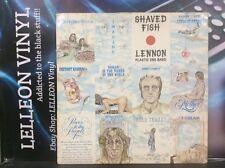 John Lennon Shaved Fish Plastic Ono Band LP PCS7173  Rock 70's Apple Label