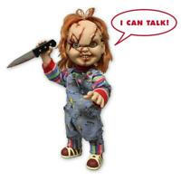 "Child's Play Chucky Puppe 15"" Talking Mega Scale"