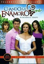 Cuando Me Enamoro [4 Discs] (2012, DVD NUOVO) (REGIONE 1)