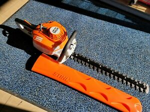 "New Stihl HS 46 C-E 22"" Gas Hedge Trimmer With Easy2Start Sys. with Blade Cover"