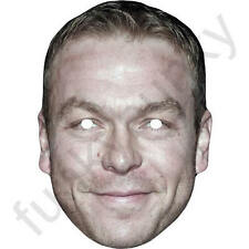 Chris Hoy GB Cyclist Celebrity Sports Card Mask - All Our Masks Are Pre-Cut!