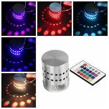 1x Classic 3W LED RGB Ceiling Wall Light Remote Control Spotlight Downlight Lamp