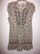 Review dress Size 12 soft cotton summer tunic VGC