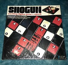 New Sealed Shogun By Epoch Digital Board Game Strategy Luck King Pawn Made Japan