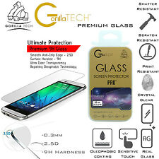 100% Genuine Gorilla Tempered Glass Film Screen Protector Guard For HTC One M7