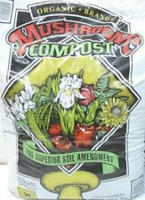 Mushroom Compost Organic Brands 40 pound bag