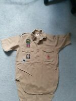 Vintage Boy Scout shirt With Badges 1960s