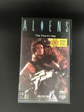 Aliens Ex-Rental Vintage VHS Tape English with dutch subs