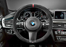 BMW OEM M Performance Alcantara Steering Wheel: F15 X5 2014-16, F16 X6 2015-16