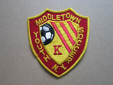 Middletown Youth Soccer Woven Cloth Patch Badge (L1K)