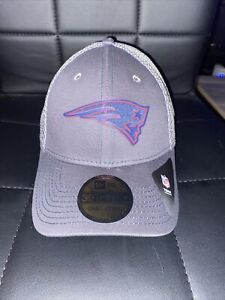 New England Patriots NFL New Era Neo Silicone 39Thirty Hat Stretch NWT NFL S/M