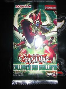 YU-GI-OH! BOOSTER L'ALLIANCE DES DUELLISTES FRANCAIS RARE PACK SCELLE NEUF