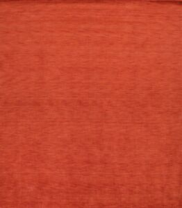 Hand-Knotted Contemporary Orange Gabbeh Oriental Area Rug Square Carpet 10x10 ft