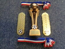 Football Trophy inc 20 x Gold Medals (Party/Celebration/ Presentation Pack)