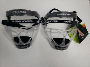 2 Rawlings Fielders Softball Face Mask Softball Pitchers Face Guard RFACE1