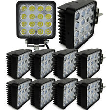 NEW 30X 48W Flood LED Off road Work Light Lamp 12V 24V Car Boat Truck Driving