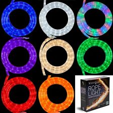 18 ft LED Rope Light Kits Indoor Outdoor Holiday Home Party Xmas Lighting Strips