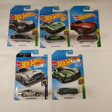 Hot Wheels ~ Aston Martin ~ Lot of 5 ~ Dbs Vulcan One-77 Db5 Look