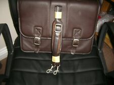 Ladies Brown Leather Briefcase (New)