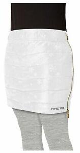 New $50 Girl's Powder Puff Insulated Snow Ski Skirt White Youth Medium M Ski