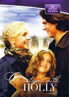 CHRISTMAS WITH HOLLY (DVD, 2012) - HALLMARK HALL OF FAME - NEW DVD