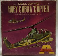 AVIATION : BELL AH-1G HUEY COBRA COPTER 1/48 MODEL KIT