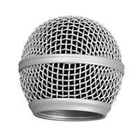 Metall Ersatz Kopf Mesh Mikrofon Grille für Shure SM58 Super A7F7