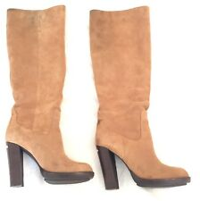 2d5f1c681fd0 Michael Kors Women s Lesly Boot Brown Suede Sz 7M Pre-owned