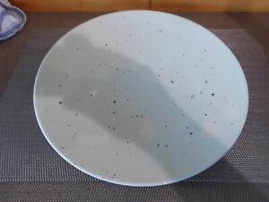 Teller  flach Beige 28  cm Coup Fine Dining Seltmann Weiden Porzellan