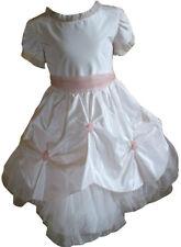 Abito  Piccole Rose damigella  cerimonia elegante rosa  bambina Taglia 65 Anni 6