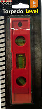 Sterling Torpedo Level with 3 Leveling Cells Lot of 72 Ship Free