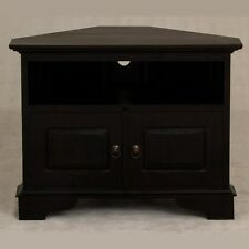 Corner TV Cabinet, Entertainment Unit, Chocolate Brown,Timber, Corner Unit.