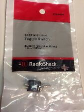 SPST Micromini Toggle Switch #275-0624 By RadioShack