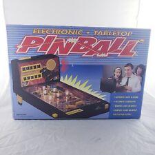 Rare & Vintage Tabletop Electronic Pinball (Mark Feldstein) Juke Jublee Game