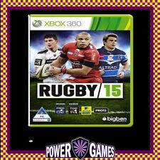 Rugby 15 (Microsoft Xbox 360) Brand New