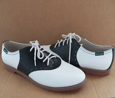 Eastland Women's Shoes Size 11 Black & White Sadie Lace-Up Oxford