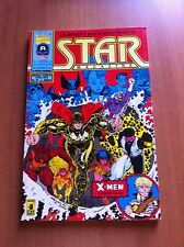STAR MAGAZINE nr 19 STAR COMICS 92 MARVEL CAPITAN AMERICA  X-MEN