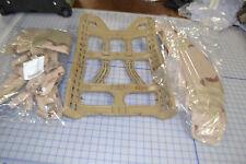 MOLLE DCU camo rucksack shoulder straps kidney belt frame only NOS unassembled