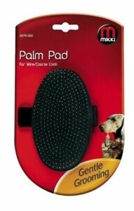 MIKKI PALM PAD FOR WIRE/COARSE COATS GENTLE GROOMING