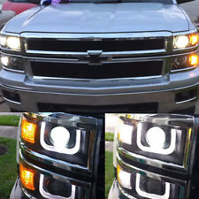 Bright Switchback Front Parking Signal LED + Resistor for 2014 2015 Silverado