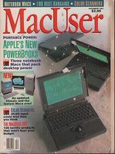 MacUser December 1991 Michael Swaine Guy Kawasaki John Dvorak w/ML 083018DBE