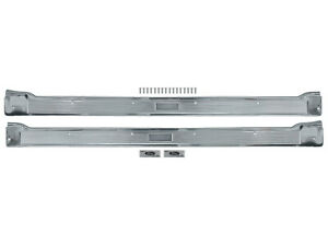 1965-66 Galaxie 2-Door Step Plates Sill Scuff Trim 500XL LTD Ford New